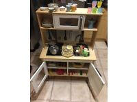 IKEA Duktig kitchen with lots of accessories