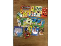 Mixed books for toddlers