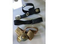 Several quality ladies belts for sale, most are jigsaw or designer