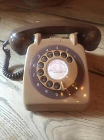 Original retro vintage phone