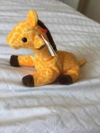 Giraffe TY Beanie Baby 'Twigs'