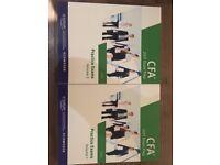 2017 CFA Level One (Level I) December Exam Practice Exams Vol 1 and Vol 2