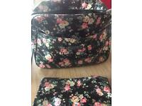 Cath kidston baby changing bag set. Rrp £75 Includes bag, bottle cover and changing mat