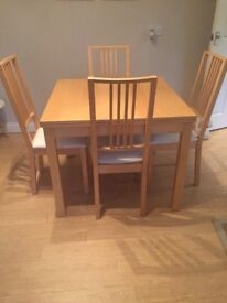 4 - 6 seater kitchen table for sale, collection only