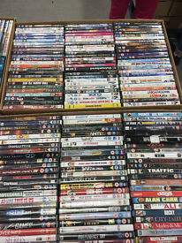 Wholesale Job Lot 3750 DVDs (Mixed Used/New/Box Sets)