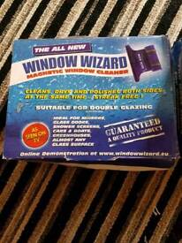 Window wizard magnetic window cleaner