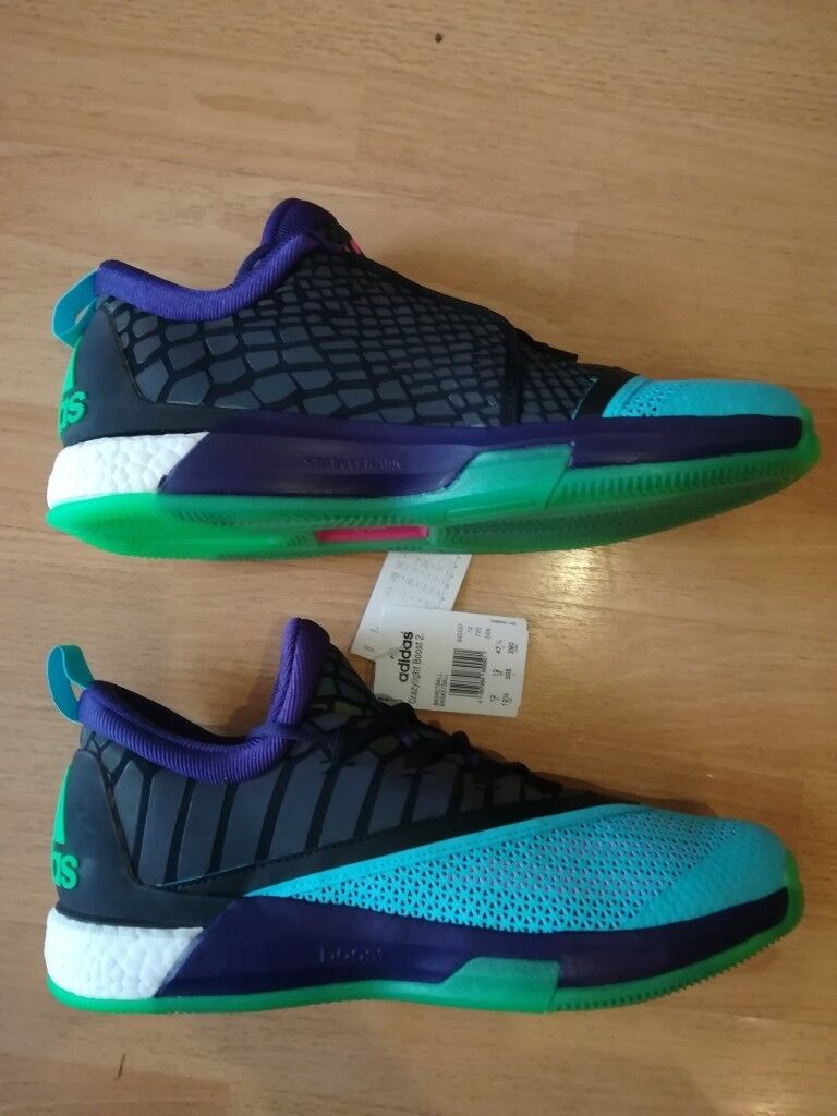 aa9d90afd774af Adidas James Harden Basketball Shoes Size UK 12 - Brand New