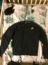 Nike Long Sleeve Shirt/Medium Size / Dark Blue Cheap