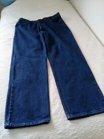 "George easy fit jeans size 40""waist inside leg 33"""
