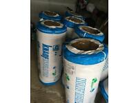 Earthwool insulation 7x rolls BRAND NEW (200mm thick and 5.2m long)