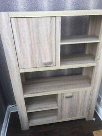 John Lewis large display cabinet