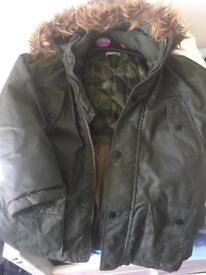 7-8 kids jacket water resistant