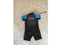 Child's Shortie Wetsuit Age 2/3