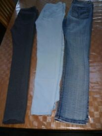 3 pairs jeans size 10