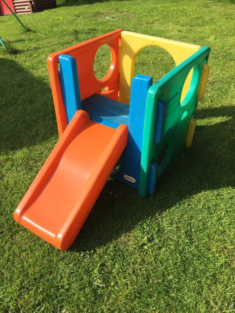 Little Tikes Activity Cube Gym Outdoor Small Slide In