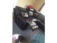 Sofa electric power recliner both corners