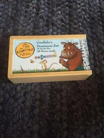 Gruffalo wooden domino set