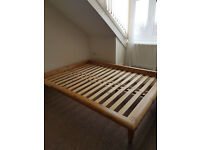 IKEA Hagali WOODEN BED FRAME BASE for sale FREE DELIVERY