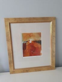 John Lewis Gold Framed Print