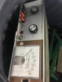 Vintage Voltage meters