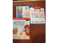 3 medical books