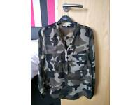 Catwalk shiffon shirt medium.