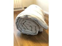 Futon Mat 2.10 x 2.40 m Ideal for Shiatsu and Thai Massage, very good condition white