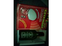 Mens aftershave and keychaine