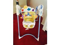 Fisher price flutterby dreams baby swing