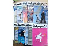 11 Issues Wallpaper Magazine - Arts/Design/Culture Magazine - Very Good Condition
