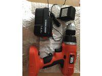 Brand New Black & Decker Cordless Hammer Drill 14.4 V