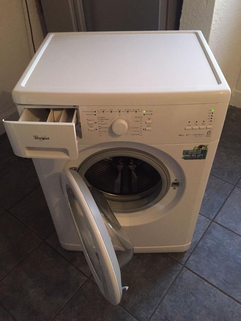 whirlpool 6th sense washing machine 6kg a rated delivery option in bathgate west. Black Bedroom Furniture Sets. Home Design Ideas