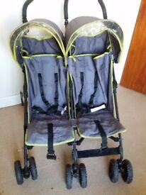 Babystart Double Stroller