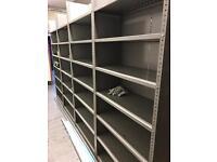 Storage Metal Shelving Job Lot - Free Standing