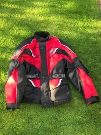 Buffalo textile motorcycle jacket