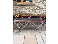Cinders BBQ industrial outdoor catering