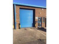 1,356 Sq Ft Industrial Unit, Workshop, Unit, Office