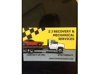 Mobile mechanic ZJ mobile mechanic and recovery services.