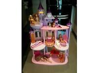Huge barbie house castle