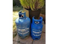 Calor gas bottles 15kg and 7kg