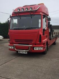 Iveco Eurocargo 5.9, Recovery Lorry, 3 Car.Recovery lorry, tilt and slide with spec,