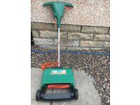 BLACK+DECKER Lawn rake and scarifier