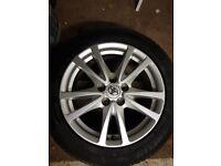 Toyota avensis alloy wheels