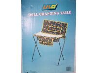 """FOLDING DOLL CHANGING TABLE 24"""" x 12"""""""