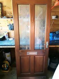 Wooden Door Light Oak Finish