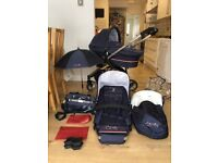 Icandy Cherry Special Edition Union Jack - push chair and carry cot