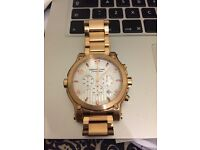 one used Montblanc Chronograph 109 years Edition Gold plated Watch