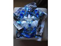 Adidas girls shell toe design hoodie
