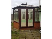 CONSERVATORY (10Ft x 11FT) (Dismantled ready to collect or deliver)