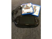 PS Vita Carry Case & Two Games